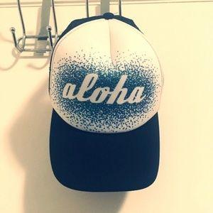 Aloha white hat